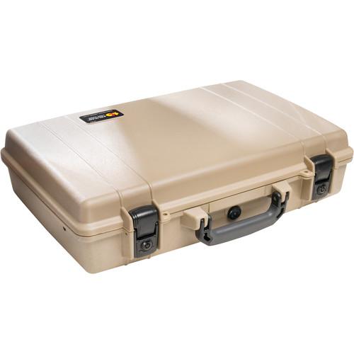 Pelican 1490 Attache/Computer Case without Foam (Desert Tan)