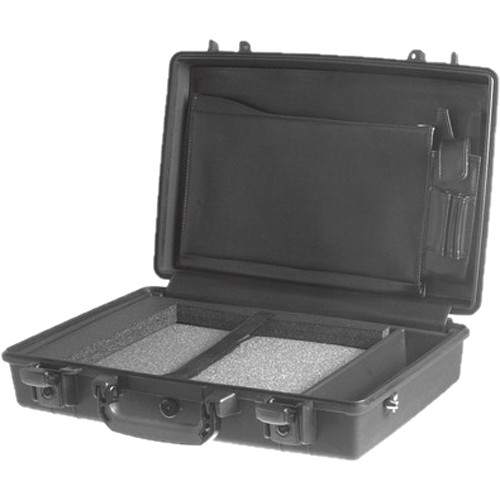 Pelican 1490CC1 Computer Case with Lid Organizer and Tray (Black)