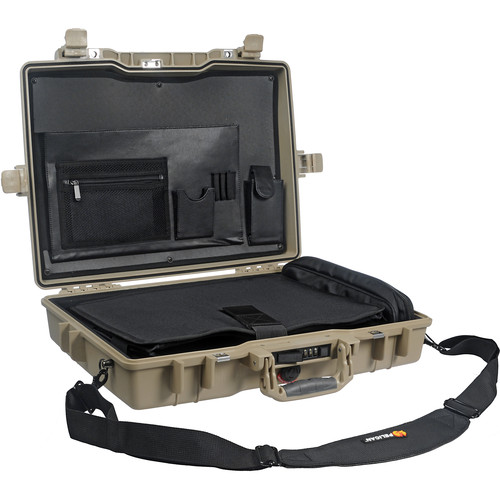 Pelican 1495CC1 Deluxe Notebook/Laptop Computer Protector Case (Desert Tan)