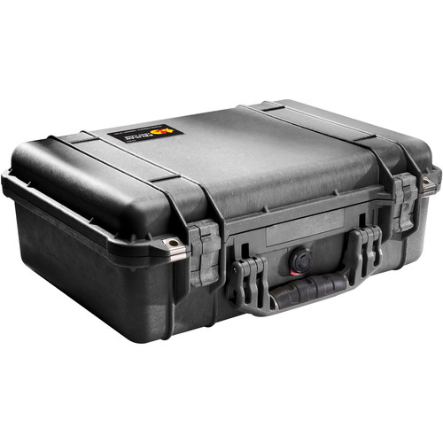 Pelican 1500NF Case without Foam (Black)