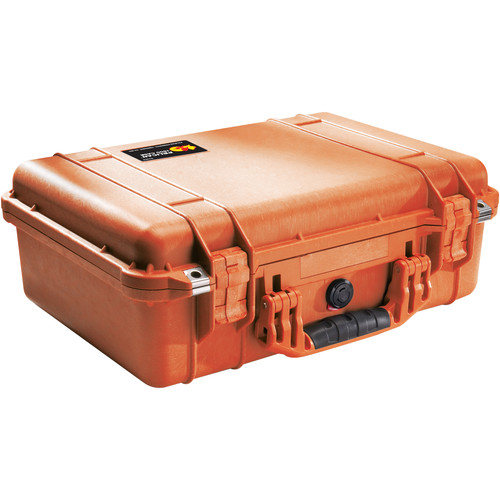Pelican 1500NF Case without Foam (Orange)