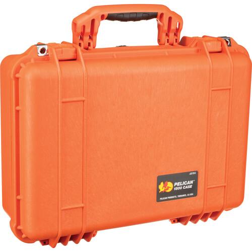 Pelican 1500NF Case without Foam (Orange)