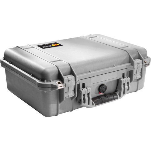 Pelican 1500NF Case without Foam (Silver)