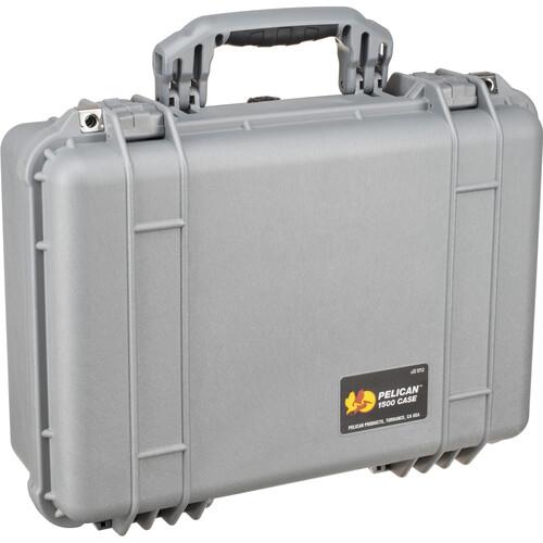 Pelican 1500NF Case without Foam (Silver)