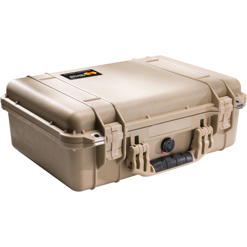 Pelican 1500NF Case without Foam (Desert Tan)
