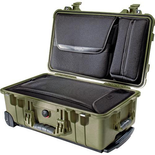 Pelican 1510LOC Laptop Overnight Case (Olive Drab Green)