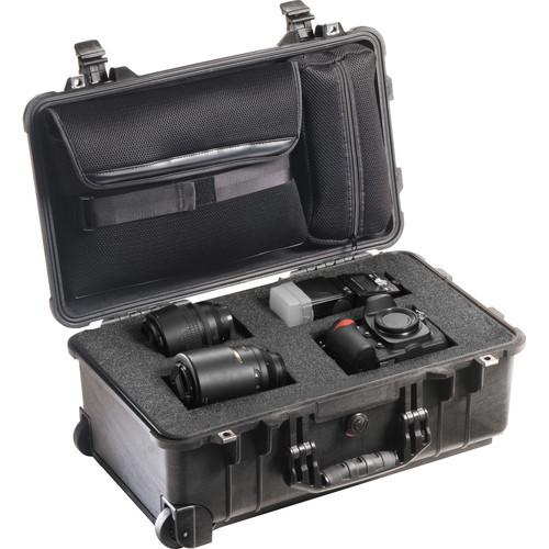 Pelican 1510LFC Laptop Overnight Case (Black)