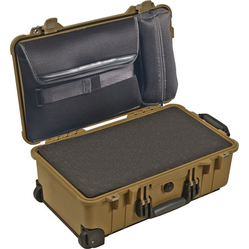 Pelican 1510LFC Laptop Overnight Case (Desert Tan)