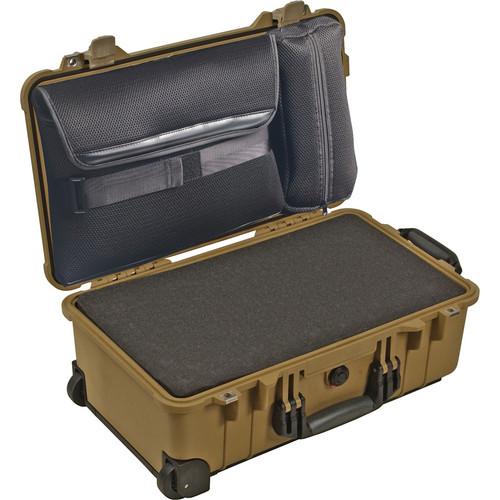 Pelican 1510LFC Laptop Overnight Case (Desert Tan)