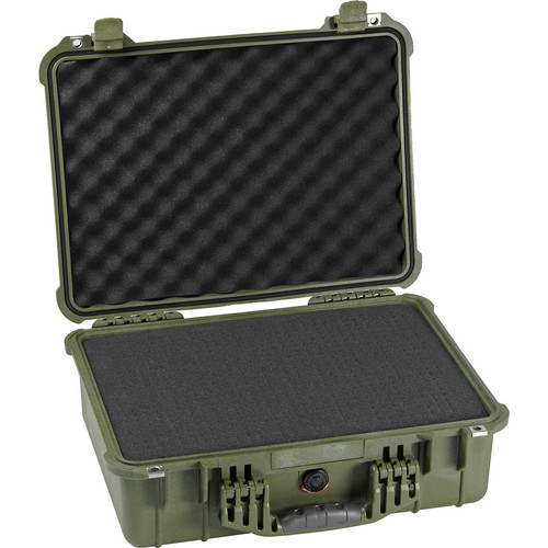 Pelican 1520 Case with Foam (Olive Drab)