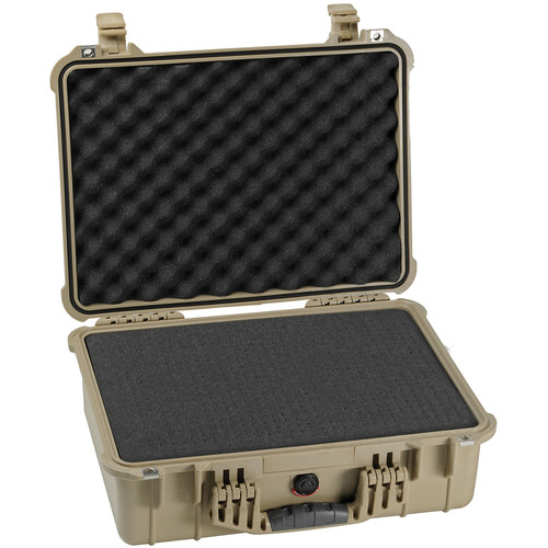 Pelican 1520 Case with Foam (Desert Tan)
