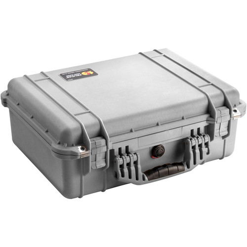 Pelican 1520NF Case without Foam (Silver)