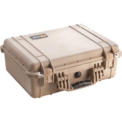 Pelican 1526 Combo Case (Desert Tan)