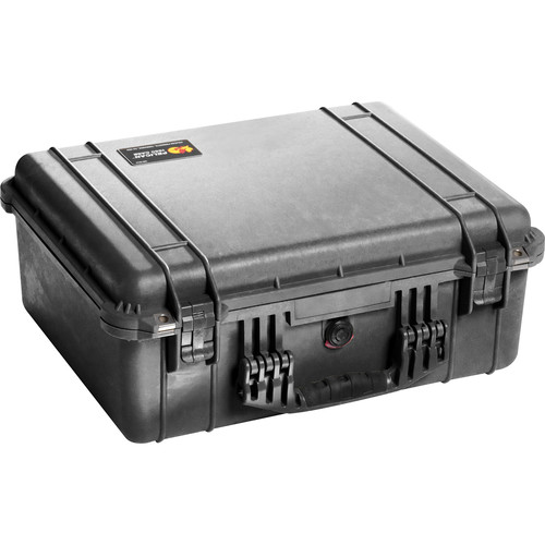 Pelican 1550NF Case without Foam (Black)