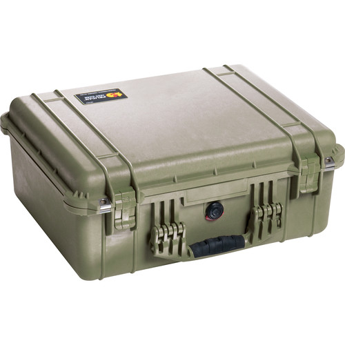 Pelican 1550NF Case without Foam (Olive Drab Green)