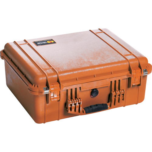 Pelican 1550NF Case without Foam (Orange)