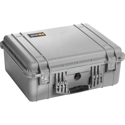 Pelican 1550NF Case without Foam (Silver)