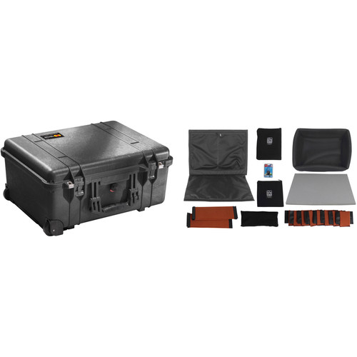Pelican 1560NF Case with Porta Brace Divider Kit