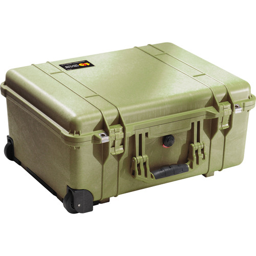 Pelican 1560NF Case without Foam (Olive Drab Green)