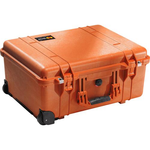 Pelican 1560NF Case without Foam (Orange)