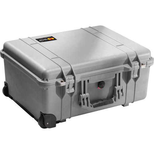 Pelican 1560NF Case without Foam (Silver)