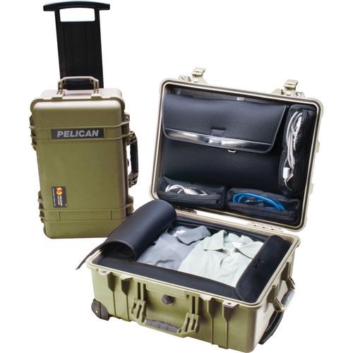 Pelican 1560LOC Laptop Overnight Case (Green)