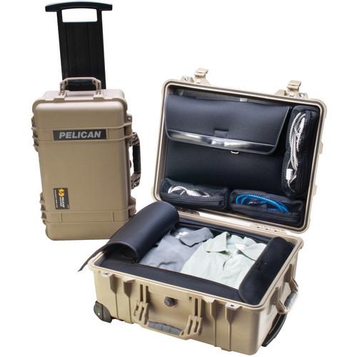Pelican 1560LOC Laptop Overnight Case (Desert Tan)
