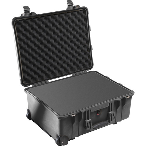 Pelican 1560 Case with Foam and Porta Brace PB-1560DKO LongLife Divider Kit (Black)