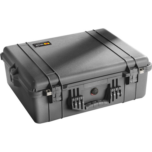 Pelican 1600 Case without Foam (Black)