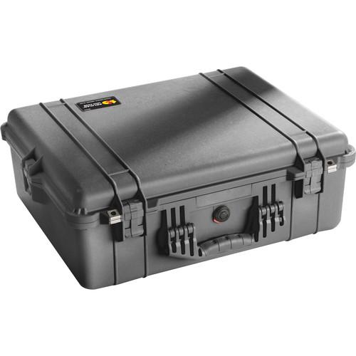 Pelican 1600 Case without Foam (Black)