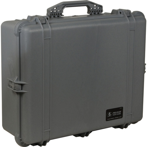 Pelican 1600NF Large Case Without Foam (Silver)