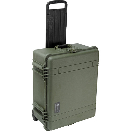 Pelican 1610 Case without Foam (Olive Drab Green)