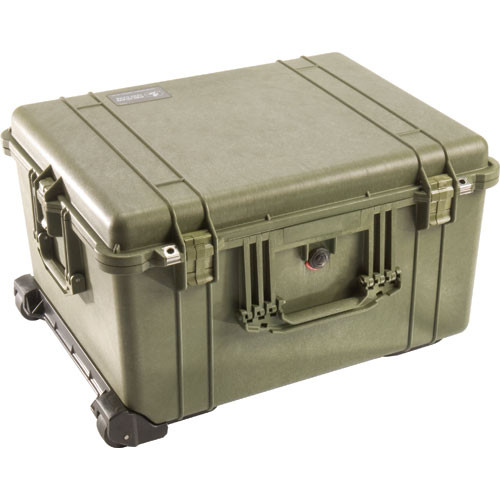 Pelican 1620NF Case without Foam (Olive Drab)