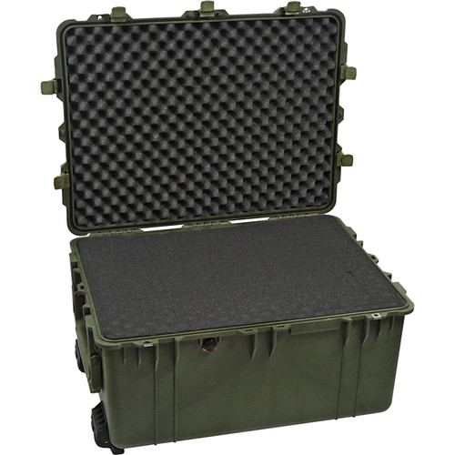 Pelican 1630 Case with Foam (Olive Drab Green)