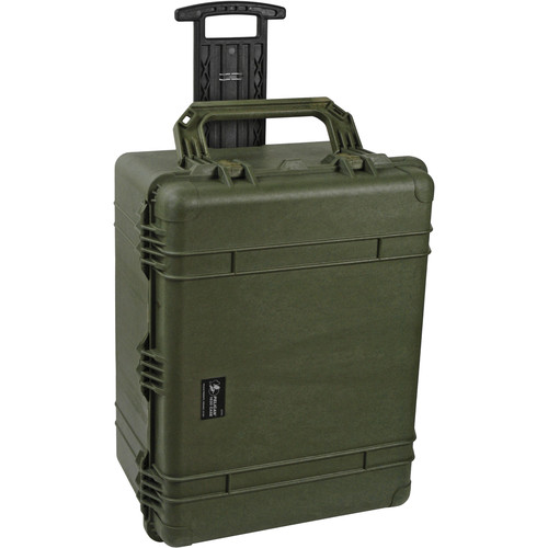 Pelican 1630NF Case without Foam (Olive Drab Green)