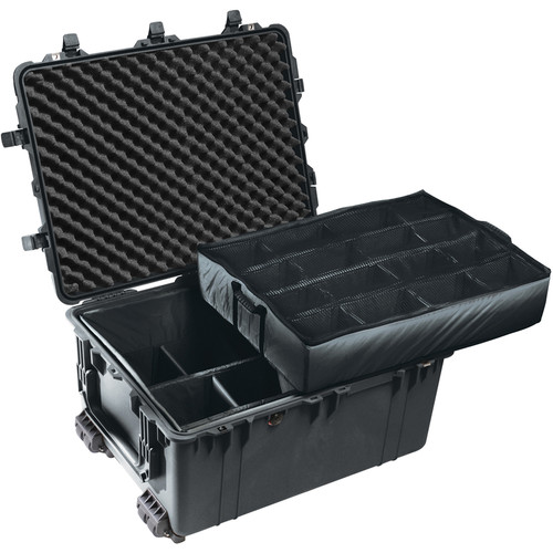 Pelican 1634 Transport 1630 Case with Dividers (Black)