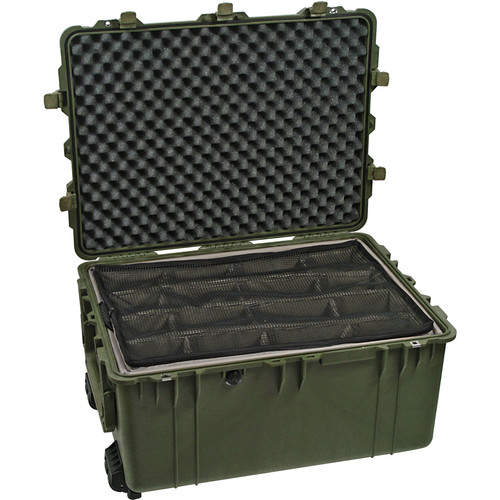 Pelican 1634 Transport 1630 Case with Dividers (Olive Drab Green)