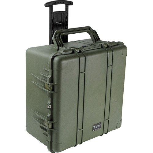 Pelican 1640NF Case without Foam Olive Drab Green