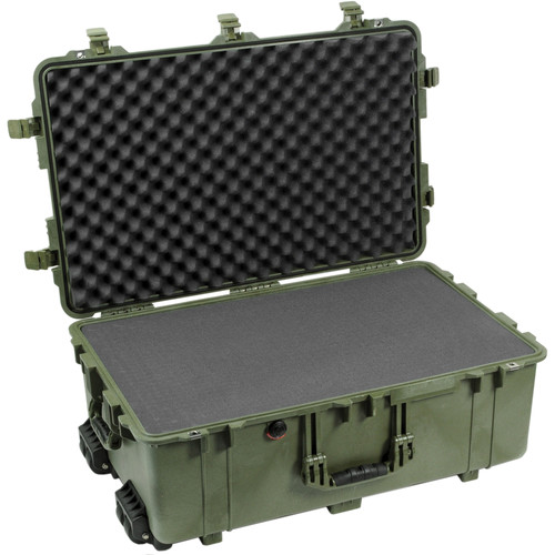 Pelican 1650 Case with Foam Set (Olive Drab Green)