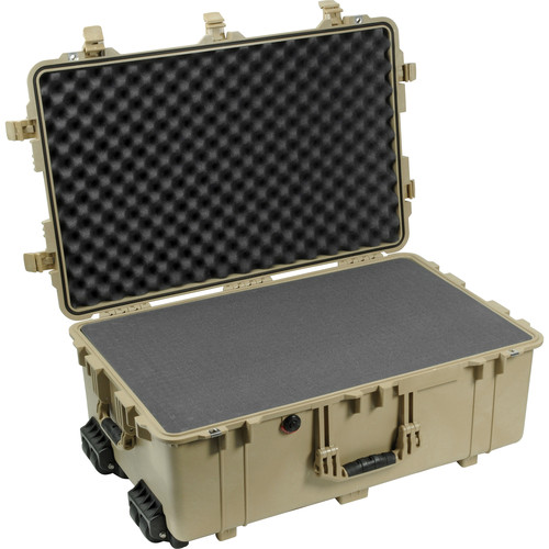 Pelican 1650 Case with Foam Set (Desert Tan)