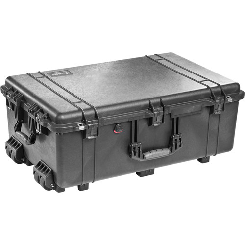 Pelican 1650NF Case without Foam (Black)