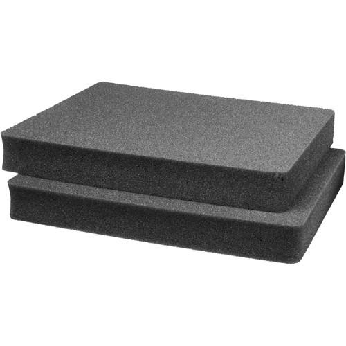 Pelican 1652 2 Piece Pick 'N Pluck Foam Only Set - for Pelican 1650 Case (Replacement)
