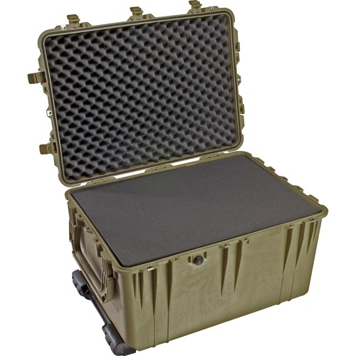 Pelican 1660 Case with Foam (Olive Drab Green)