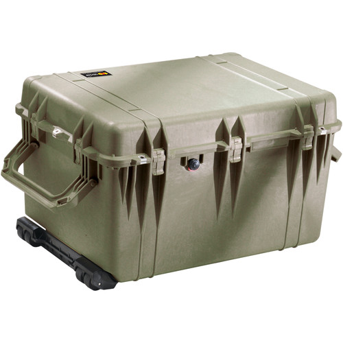 Pelican 1660NF Case Without Foam (Olive Drab Green)