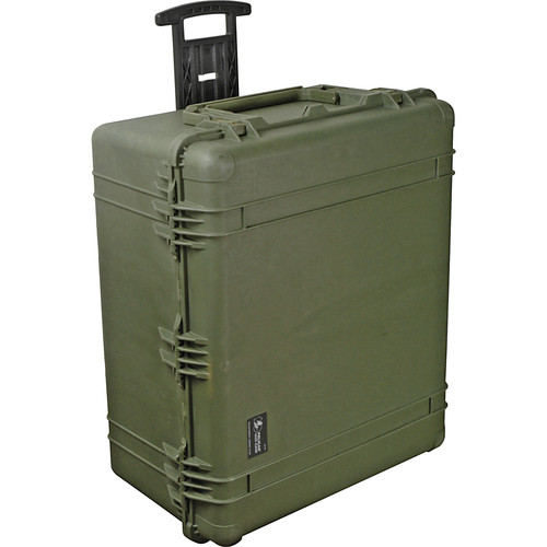 Pelican 1690 Transport Case Without Foam (Olive Drab Green)