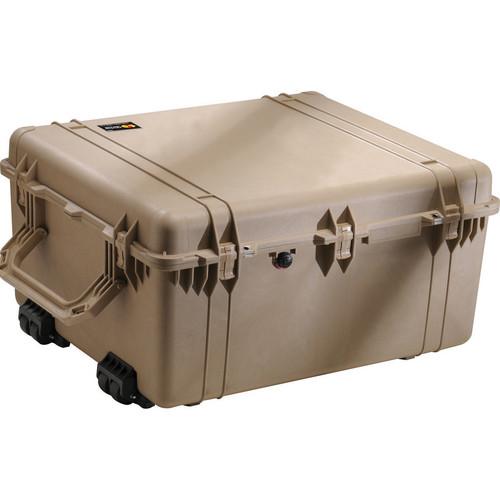 Pelican 1690 Transport Case Without Foam (Desert Tan)