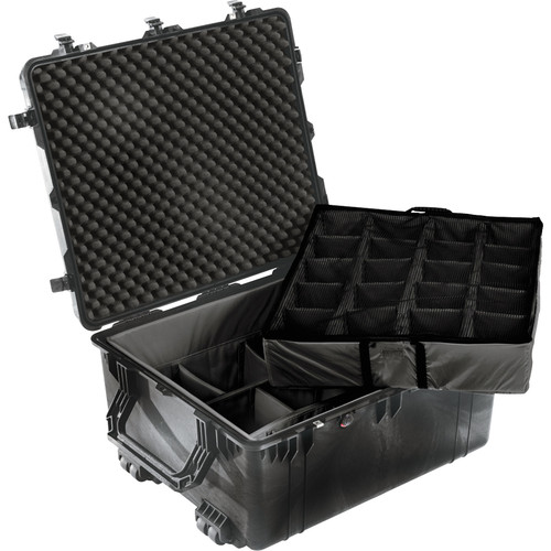 Pelican 1694 Transport 1690 Case with Dividers (Black)