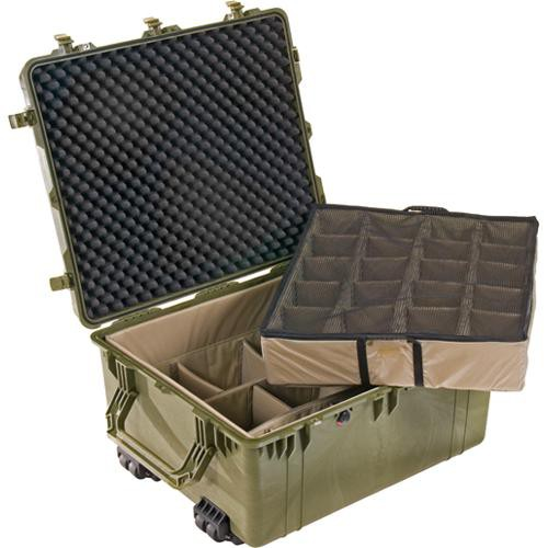 Pelican 1694 Transport 1690 Case with Dividers (Olive Drab Green)