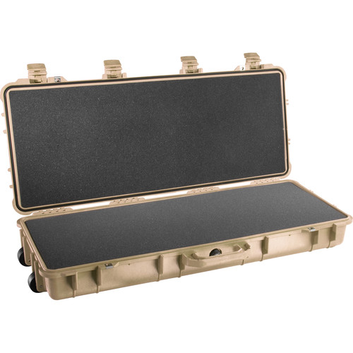 Pelican 1700 Long Case with Foam (Desert Tan)