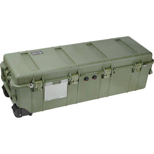 Pelican 1740NF Transport Case without Foam (Olive Drab Green)